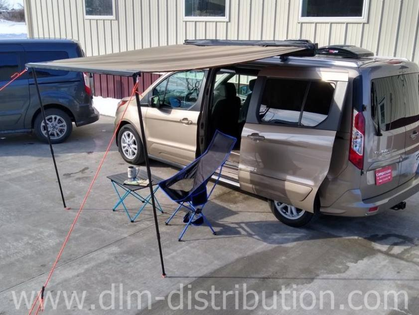 Awning for the Mini-T Garageable Camper Van