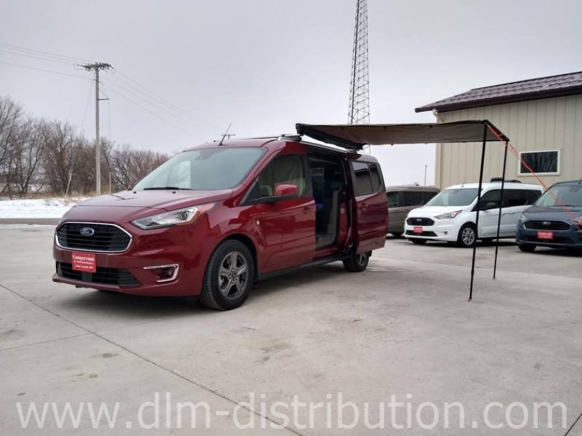 2020 Kapoor Red Titanium Mini-T Campervan for your safe travels with Adaptive Cruise Control, Awning and more!