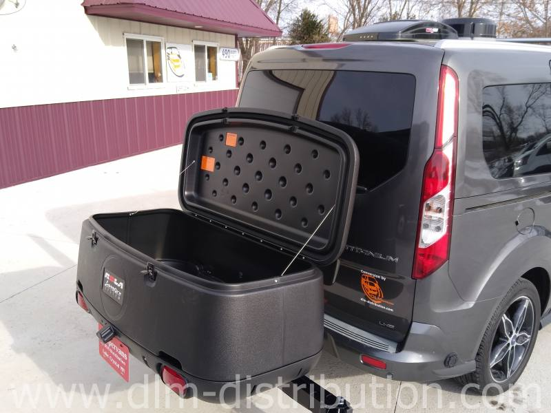 Camper Van Swing-out luggge carrier