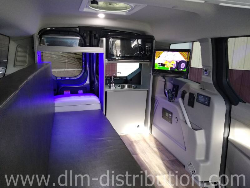 Mini-T Campervan Interior