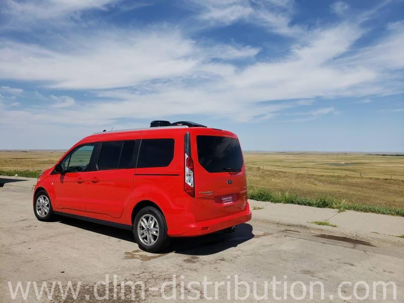 Mini-T Camper Van Touring wide open spaces ~ SD Badlands area
