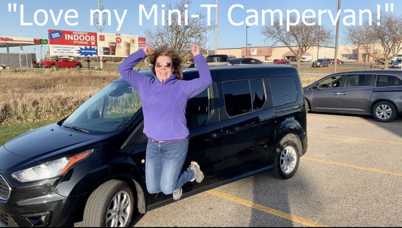 Travelers love the Mini T Campervan!